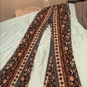 High waisted stretchy pants